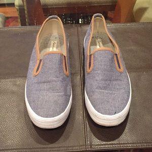 🌼American Eagle denim canvas boat sneakers